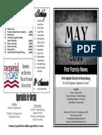 FBC Newsletter 05 2014
