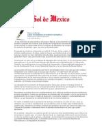03-05-2014 El Sol de México - Leyes secundarias en materia energética.