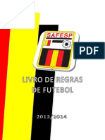 Regra Futebol 13 2014N SAFESP