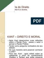 Filosofia - Kant - Direito e Moral