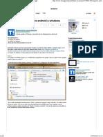Compartir Archivos Entre Android y Windows - Taringa!