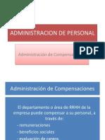 Administracion de Compensaciones