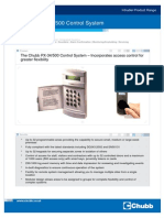 DS005 PX34 500 Control System