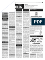 Claremont COURIER Classifieds 5-2-14