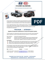 Hyundai FIE-test Bench Upgrade Avdt