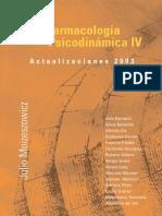 Psicofarmacologia Psicodinamica IV Actualizaciones 2003