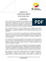 Normativa Acuerdo Ministerial 161