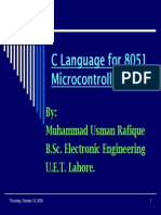 c Programming for 8051_ok