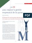 Distintivo M Mejora Gestion Empresarial PYME