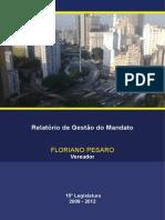 Relatório de Gestão 2012 - Vereador Floriano Pesaro