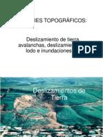 9. Deslizamientos de Lodo, Inundaciones