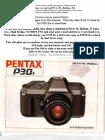 Pentax p30