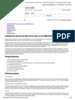 USB_installation - Groovyarcade - Guía Para La Instalación de La Unidad Flash USB