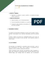 DETERMINACION  DE LA VALORACION  DE  VITAMINA C.docx