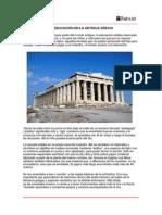 La Educacion en Grecia