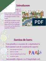 Une Visite a Paris Projet Webquest