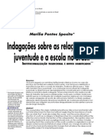 9 Juventude e Escola Revista de Estudos Sobre a Juventude