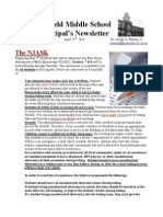 GMS Principal's Newsletter 4-11-14