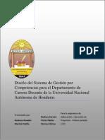 Proyecto Gestion Por Competencias - 2011