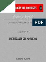 CAP TULO 5 - Propiedades Del Hormig n