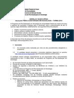 Edital Doutorado 2014