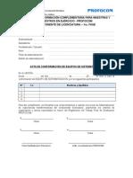 Acta Equipo Sistematización