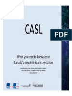 What you need to know about Canada's new Anti‐Spam Legislation
