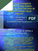 Análisis de La Inteligencia Emocional de José Arcadio Buendía