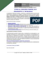 1 Comunicado Nº01 2014 Convoc v 2014