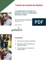 Procedimiento Revision de Diseños NE 2011