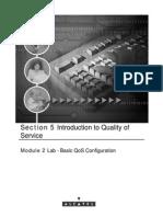 Alcatel Lab Basic QoS Configuration