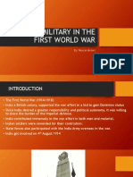 Indian Military in the First World War