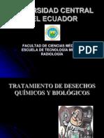 Tratamiento de Desechos Químicos y Biológicos