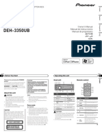 Operating Manual (Deh-4350ub) (Deh-3350ub) - Eng - Esp - Por