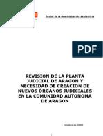 Juzgados y Tri Bun Ales de Aragon,Octubre 2009
