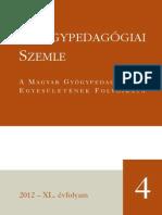 Gyógypedagógiai Szemle 2012/4