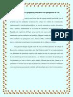 Guía Metodológica Propuesta Para Clases Con Apropiación de TIC 1