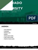 CSU stadium design committee presentation