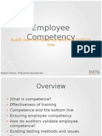Employee Competency
