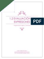 1.2. Evaluación de Expresiones