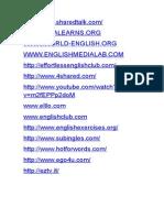 30 Links Para Practicar Ingles