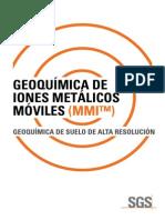 Geoquimica de Suelos Por Metodo Organico