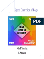 petrophysict 02 Speed Correction