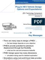 Plug-In HEV Vehicle Design Options and Expectations