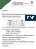 1a Lista de Exercicios de Quimica Dos Compostos de Coordenacao