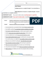 Printables Parallelism Worksheet parallelism worksheet psychology science in p and subclauses 1