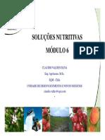 Capacitación Modulo 6 Soluciones Nutritivas PORTUGUÊS
