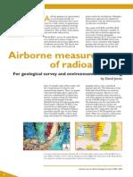 Airborne radioactivity measurement