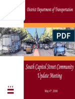 South Capitol Street Community Update Meeting Presentation - May 4, 2006