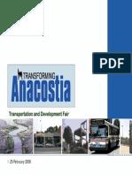 February 2006 Transforming Anacostia Public Meeting